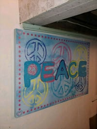 """""""Peace"""" Canvas Wall Art Kitchener, N2G 1P4"""