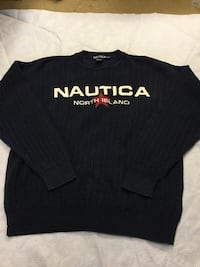 Vtg NAUTICA North Island Sweater  Myrtle Beach, 29588