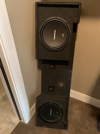 Rockford Fosgate 2, 12's , Amp and Box Sioux Falls, 57104