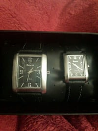 Roots His and Hers watches.