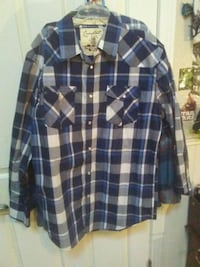 Flannel jacket! CHEAP!!! Button up by Costal! Somis, 93066