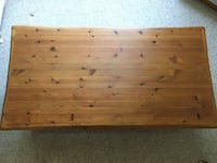 Handmade Coffee Table Solid Pine Wood  Sterling