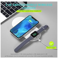 Brand New wireless phone and watch charger $35 Edmonton, T6W 2X7