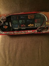 Brand new in box! Toy truck set!