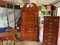 5 piece Solid cherry bedroom set. Alpharetta, 30009