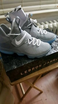 **NIKE LEBRON 14 *MAGS* size 8 MARTY MCFLY* 535 km