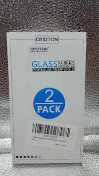 Omoton Glass Screen Protector 2 Pack for Galaxy S7 Eastvale