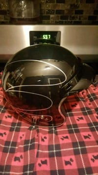 black and gray full face helmet Washington
