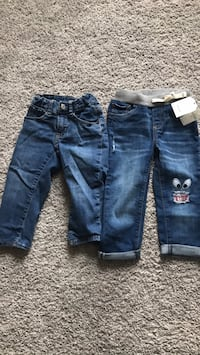 2years and 3years gap jeans  Plainfield, 60586
