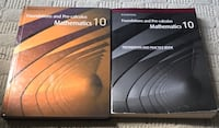 Pearson Foundations and Pre Calculus Mathmatics 10