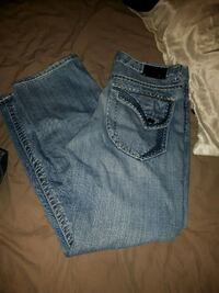 For him embroidery jeans size 36x34 Edmonton, T5G 2N2