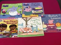 Set of 5 books for $3 El Paso, 79938