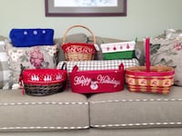 Christmas Baskets - Various prices.See description for list. Winchester, 22602