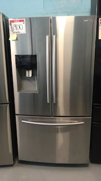 samsung 3 door fridge 90 days warranty  Reisterstown, 21136
