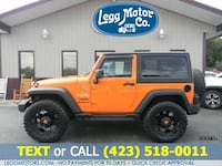 2012 Jeep Wrangler 4WD 2dr Sport Piney Flats, 37686