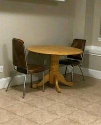 Dining table and chairs.  Surrey, V4N 0W2