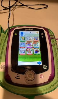 Leap pad Portable game console with 3 games Falls Church, 22043