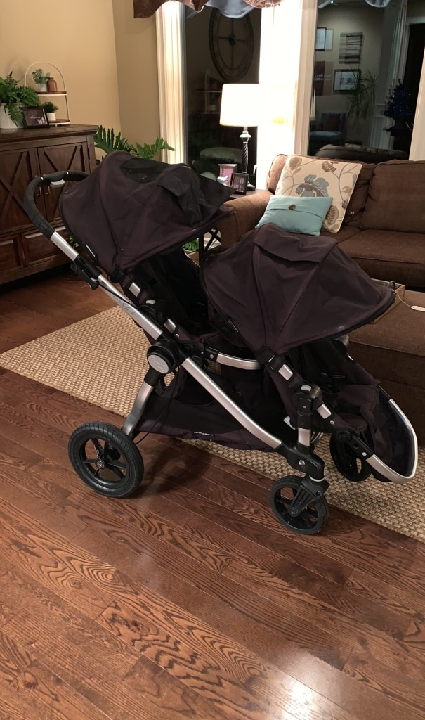 Photo Baby Jogger Double and/or single stroller with snack trays