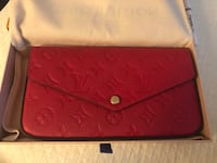 Louis Vuitton Red Leather Purse Columbia, 21044