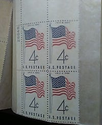 LOTS OF OLD 1958 STAMPS.  Mission, 78574