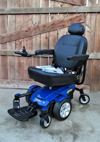 jazzy 6 wheel chair