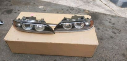 Bmw e39 5 series parts headlights taillights trunk