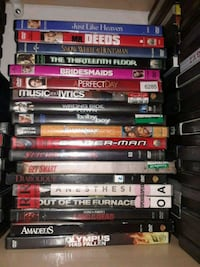 assorted-title DVD case lot Victorville, 92392