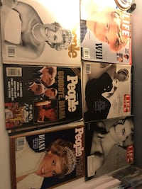 Princess Diana Magazines Lot Of 6 Laurel, 20708