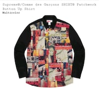 Supreme x Comme Des Garcons Patchwork Shirt Washington, 20003