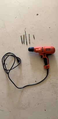 Black and decker corded drill Catharpin, 20143