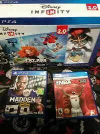 3 sony ps4 games $20 Nueva Jersey, 08701