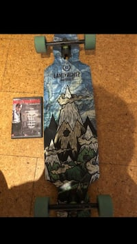 Long board type (land yachz)  Drop carve 37 Oslo, 1178