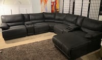 7 Piece suede Leather Sectional Couch  Las Vegas, 89131