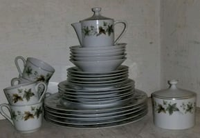 Wentworth China Dining Set Imperial Hawthorne