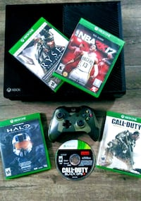 Xbox One + Wireless Controller + 5 games. Antelope, 95843