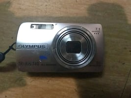 OLYMPUS STYLUS 740 DIGITAL CAMERA,WATERPROOD
