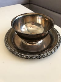 Vintage Silver Dip/Candy Dish - WM A Rogers by Oneida Las Vegas, 89149