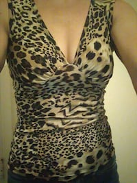 Pretty animal print top  Abilene, 79603
