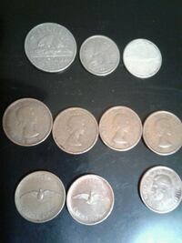 round silver and gold coins Edmonton, T5C 2V3