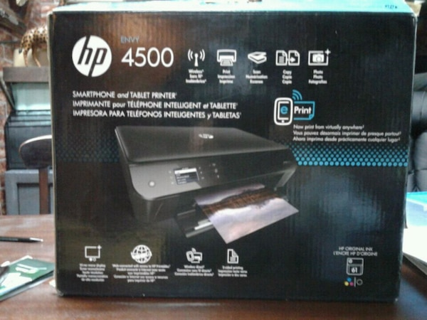 HP Envy 4500 Ink Printer - Wireless & Bluetooth