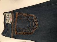 True Religion Jeans Barely Worn Size 38 Gaithersburg