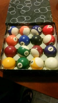Billiards pool table balls  Exeter, 93221