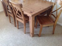 Solid pine table in GOOD/ GREAT condition VANCOUVER