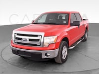 2014 Ford F150 SuperCrew Cab pickup XLT Pickup 4D 5 1/2 ft Red <br Baltimore