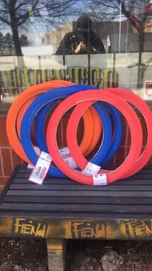 "20"" Kenda Kontact BMX Tires in multiple colours"