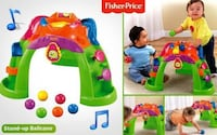 Fisher-Price Stand-up Ballcano Brand New & Sealed  Stand Up Ballcano is fun toy sure to engage baby The 6 colorful balls will erupt from the center when baby bats at the roller ball or silly character Watch the balls spill down the 3 legs Focuses on baby' Toronto
