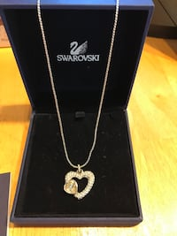 Swarovski Emotion pendant with chain