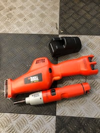2 Black decker tools and charger no battery  Anoka, 55303