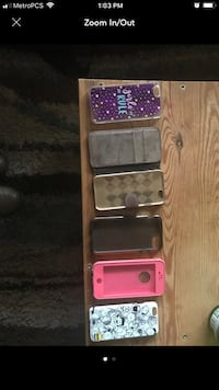 Four assorted color smartphone cases Fremont, 94536