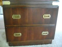Quality two drawer low chest style cabinet SECHELT